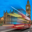 """""""Big Ben Blur"""" stock image"""