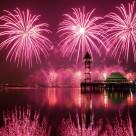 """Fireworks in Putrajaya"" stock image"