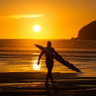 """Surf Lifesaver"" stock image"