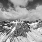 """Alpine Mountain Aerial"" stock image"
