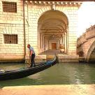 """Gondoliere Venezia"" stock image"