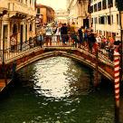 """Venice - Tourists"" stock image"