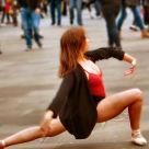 """Street Ballet"" stock image"