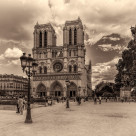 """""""Notre Dame Cathedral Paris"""" stock image"""