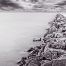 """Breakwater"" stock image"