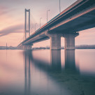 """""""Bridge Dream"""" stock image"""