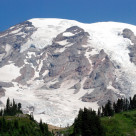 """Mount Rainier"" stock image"