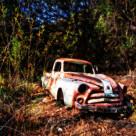 """Old Fargo truck"" stock image"