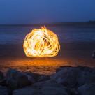 """Fireball"" stock image"