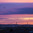 """""""Industrial Dawn"""" stock image"""