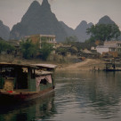 """Guilin Limestone Peaks"" stock image"