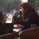 """""""Tea in Tashkent"""" stock image"""