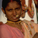 """Indian Girl in Rajasthan"" stock image"