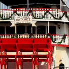 """Steamboat Natchez, Mississippi River (New Orleans)"" stock image"