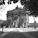 """""""Arc de Triomphe du Carrousel"""" stock image"""