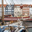 """""""Nyhavn harbour in Copenhagen"""" stock image"""