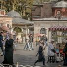 """street scene istanbul"" stock image"