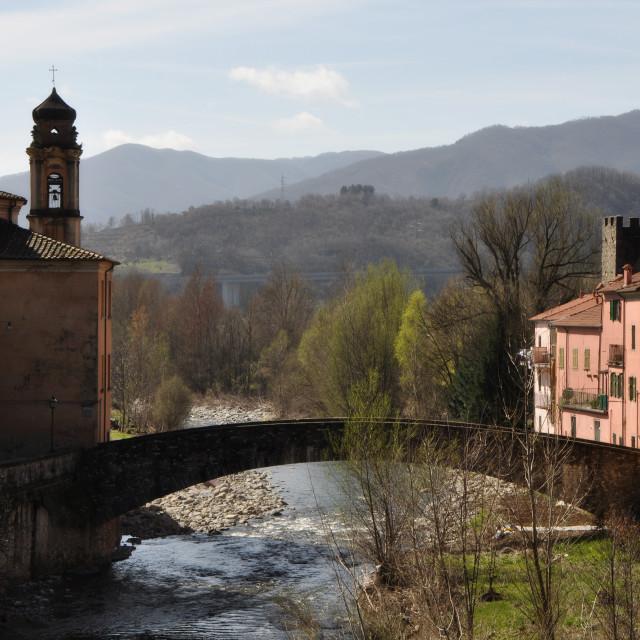 """Pontremoli, Tuscany"" stock image"