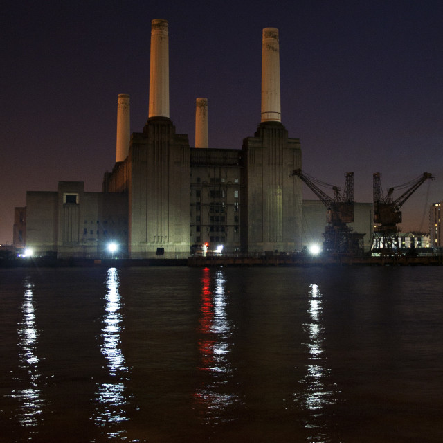 """Battersea (Colour)"" stock image"