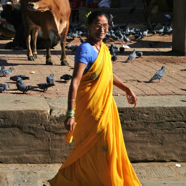 """Sari in the Square"" stock image"