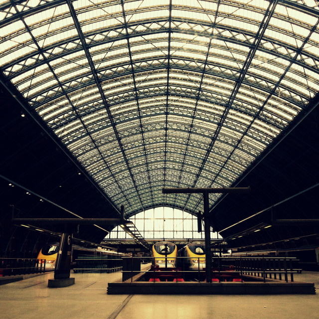 """St Pancras International"" stock image"