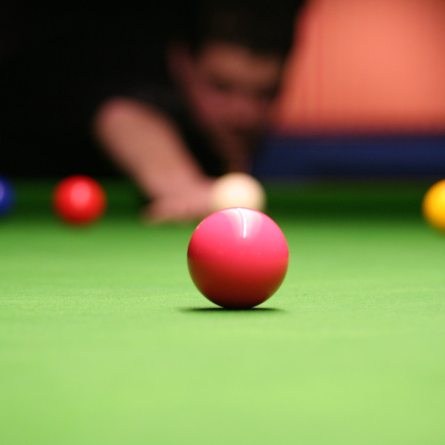 """Snooker"" stock image"