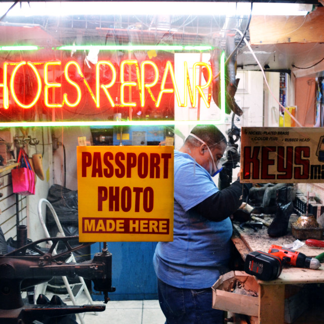"""Shoe Repair Business"" stock image"
