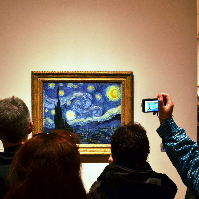 """Starry Night"" stock image"