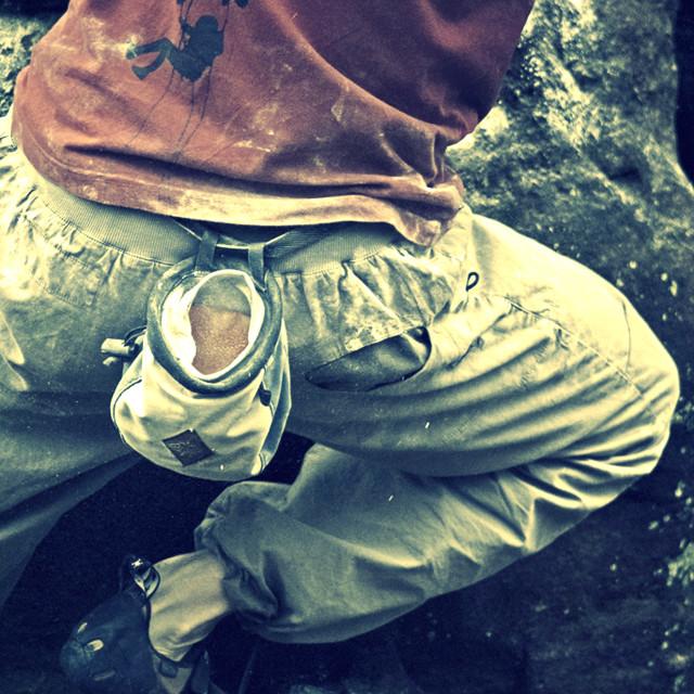 """Free Climber"" stock image"