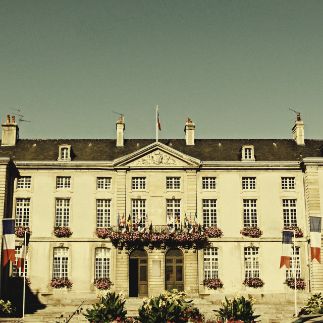 """Bayeux Town Hall"" stock image"
