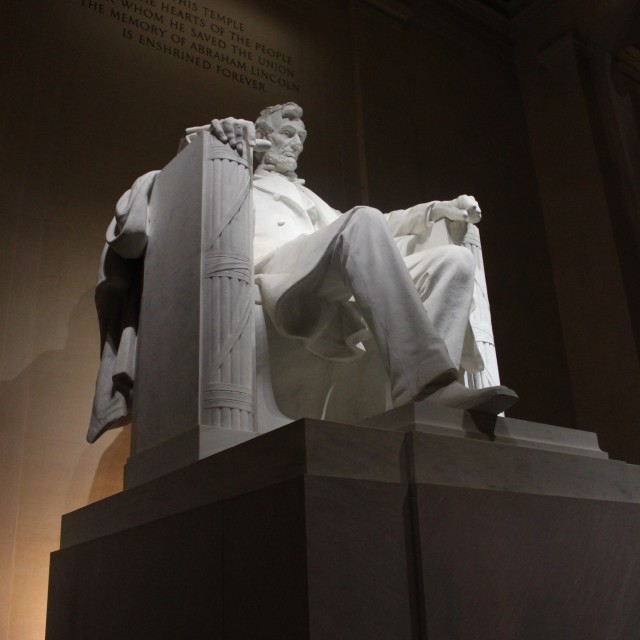 """Lincoln Memorial"" stock image"