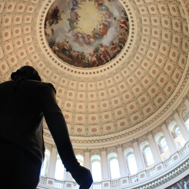 """Capitol Rotunda"" stock image"