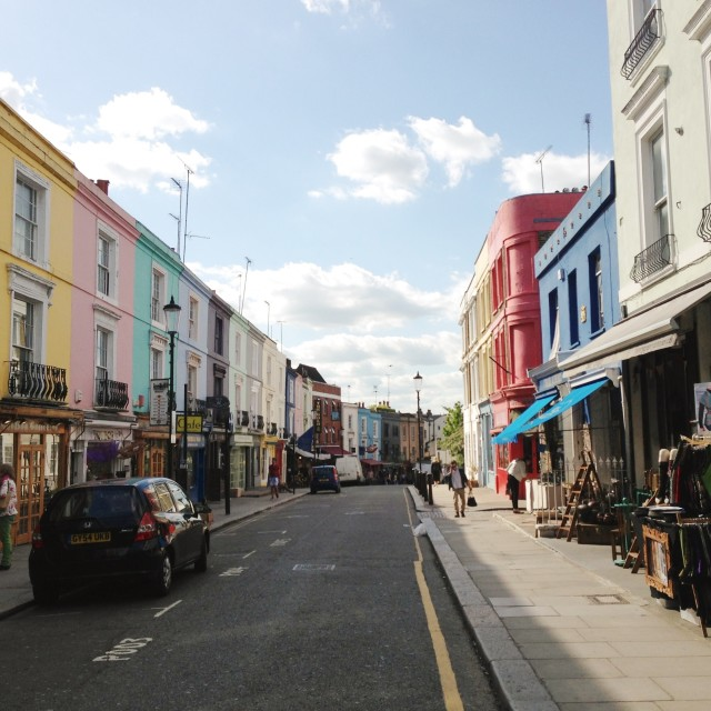 """Portobello Road"" stock image"
