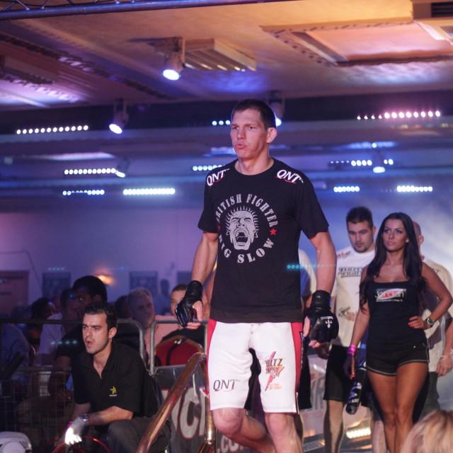 """""""MMA - Luke Barnatt UFC Fighter"""" stock image"""