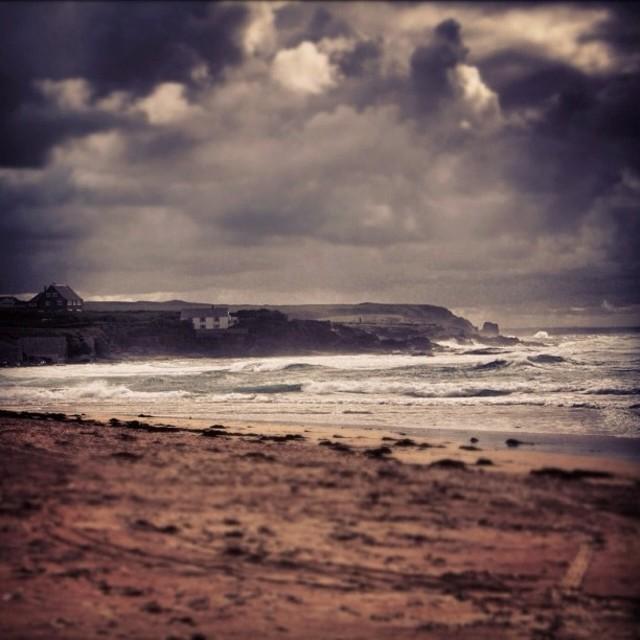 """""""Cornish Coast"""" stock image"""