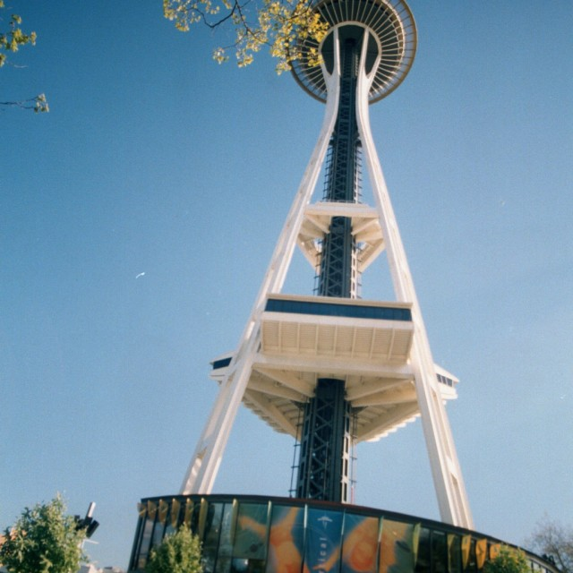 """Seattle space needle"" stock image"