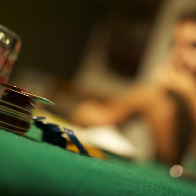 """let s gamble"" stock image"