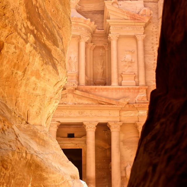 """""""Petra, Jordan"""" stock image"""