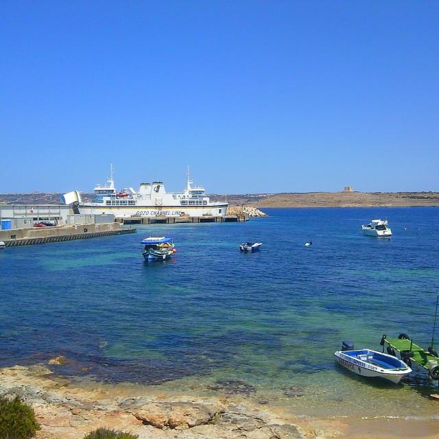 """""""Ferry to Gozo to Malta"""" stock image"""