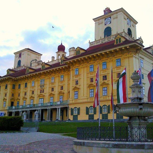"""Esterhazy Castle in Eisenstadt, Burgenland, Austria"" stock image"