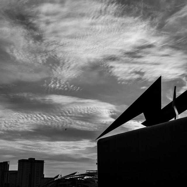 """Mackerel Sky"" stock image"
