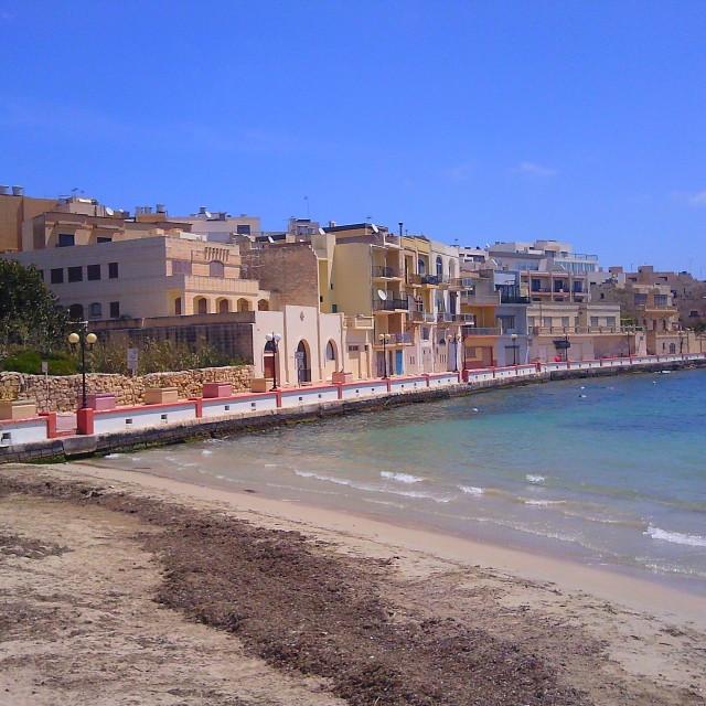 """""""Birzebbuga in Malta"""" stock image"""