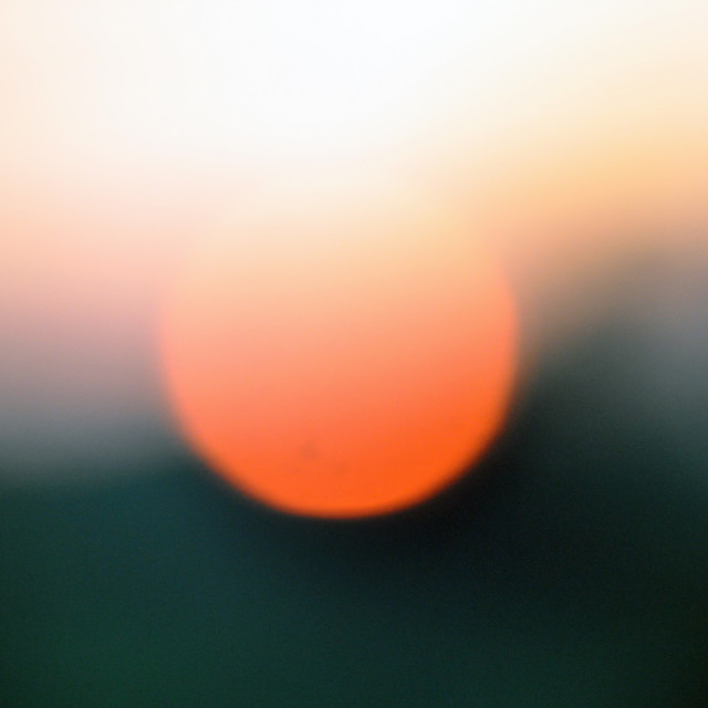 """Setting Sun"" stock image"