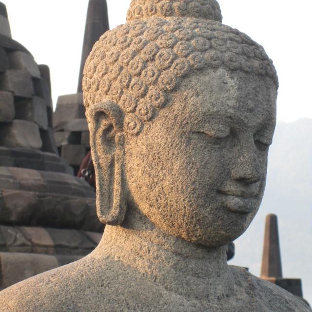 """Buddha Close Up"" stock image"