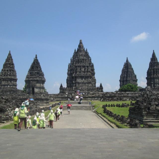"""""""Prambanan"""" stock image"""