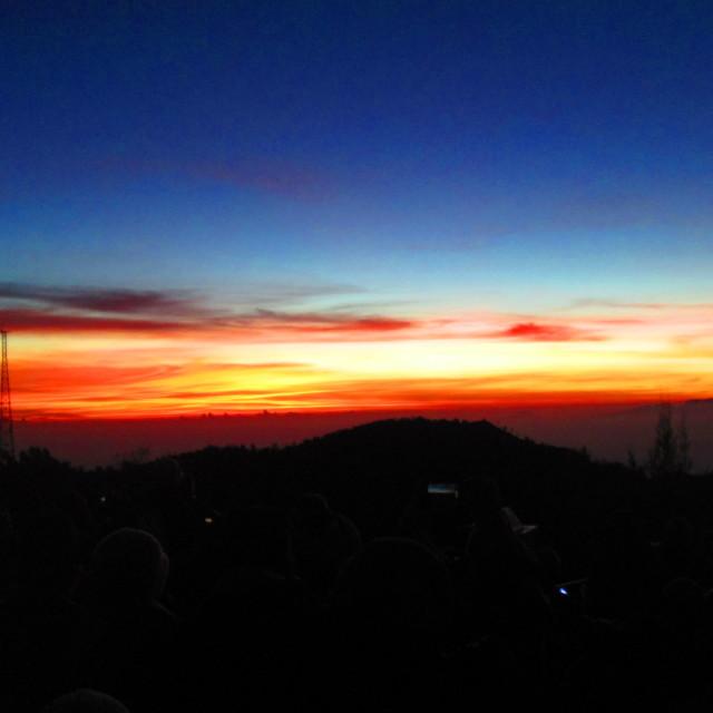 """""""Bromo Sunrise"""" stock image"""