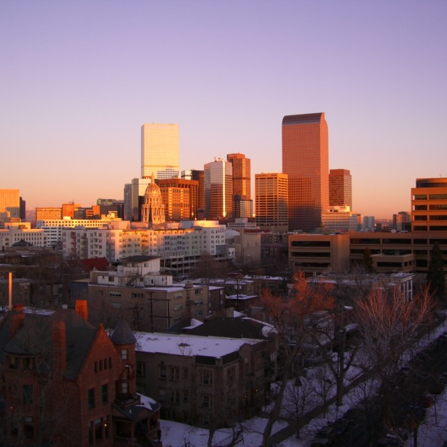 """Denver Colorado"" stock image"