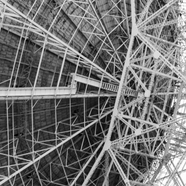 """Jodrell Bank Radio telescope"" stock image"