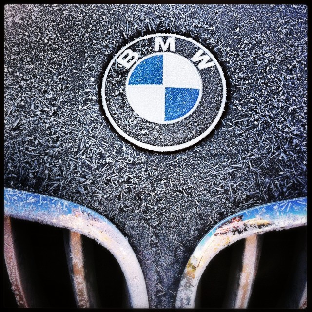 """Frosty BMW"" stock image"