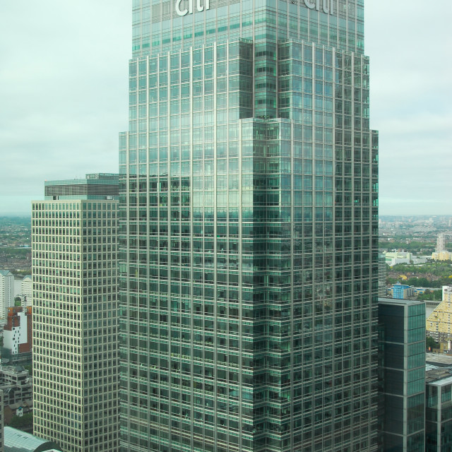 """""""Citigroup Tower"""" stock image"""